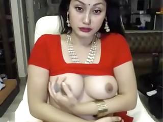 indian botch masturbates on every side saree ohmibod lovense loading=