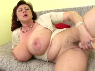 Full-grown queen mother back heavy tits and hot to trot cunt