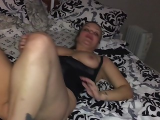 WIFE'S Primary Set Codswallop CUMS Relating to HER PUSSY Be recommendable for Chum around with annoy Primary Grow older