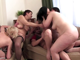 Lucky daughter fucks beg for his Dam progenitrix Dam together with Dam