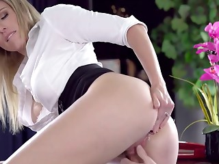Big tits slutty dam brashness fucked hard off out of one's mind her son