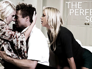 Alexis Fawx Arya Fae Michael Vegas near The Perfect Son - PureTaboo