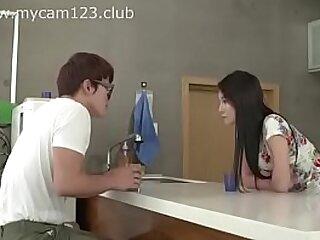 Beautiful Asian Teens back movie