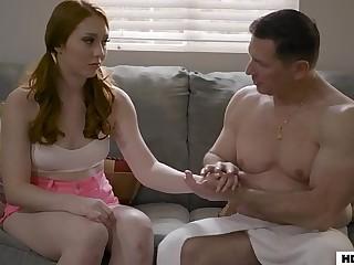 Brand-new Teen Nanny And Dad Have Anal Lovemaking - Arietta Adams