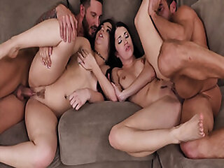 Teens Alex Coal and Kimber Woods gives their dads some medicine