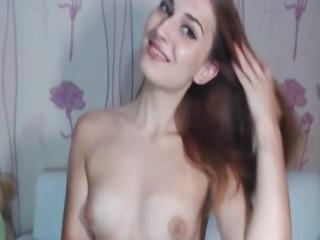 Sexy Hot Teen Striptease and Masturbation