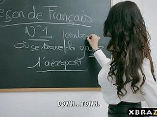 Hardcore fuck with teacher