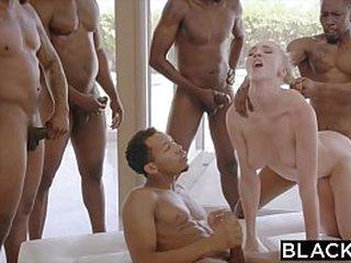 BLACKED Gang Bang Kendra loading=