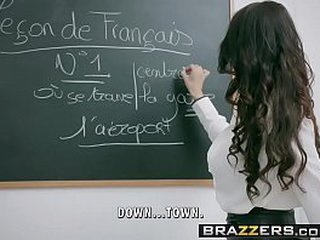 Brazzers - Big Tits at School -  Romance Languages scene starring Anissa Kate and Marc Rose loading=