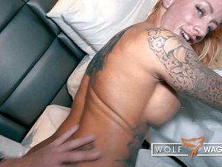 Naughty tattoo model Harleen Van Hynten BANGED by random Blind Date in fancy Hotel Room! █ WOLF WAGNER DATE ▁ I met her on the dating site wolfwagner.date