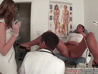 Two babes enjoy getting ass-fucked by the doc! AMATEURCOMMUNITY.XXX