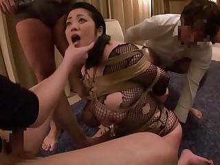 Extreme JAV bound free use blowjobs Minako Komukai Subtitled loading=