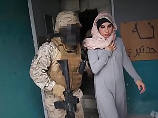 Gangbang patriot soldiers and  muslim prostitute