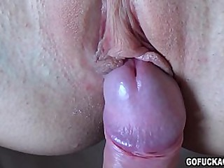 sexy blonde girl gets FUCKED
